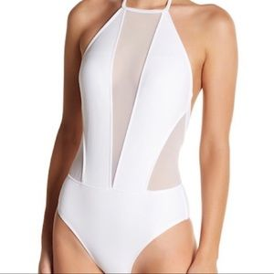 Ted Baker London Mesh One-Piece SwimSuit Size 5